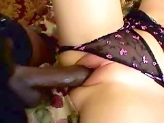 Two black studs share cutie in cave