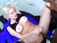 Black cums mightily on cuties face